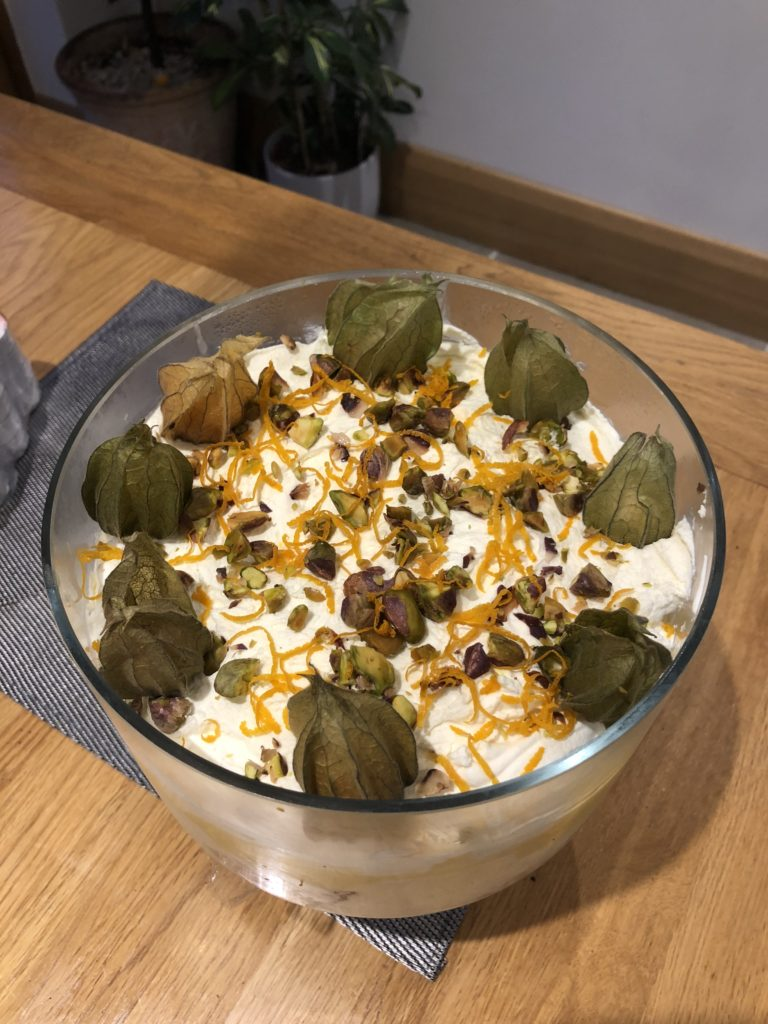 Mincemeat trifle