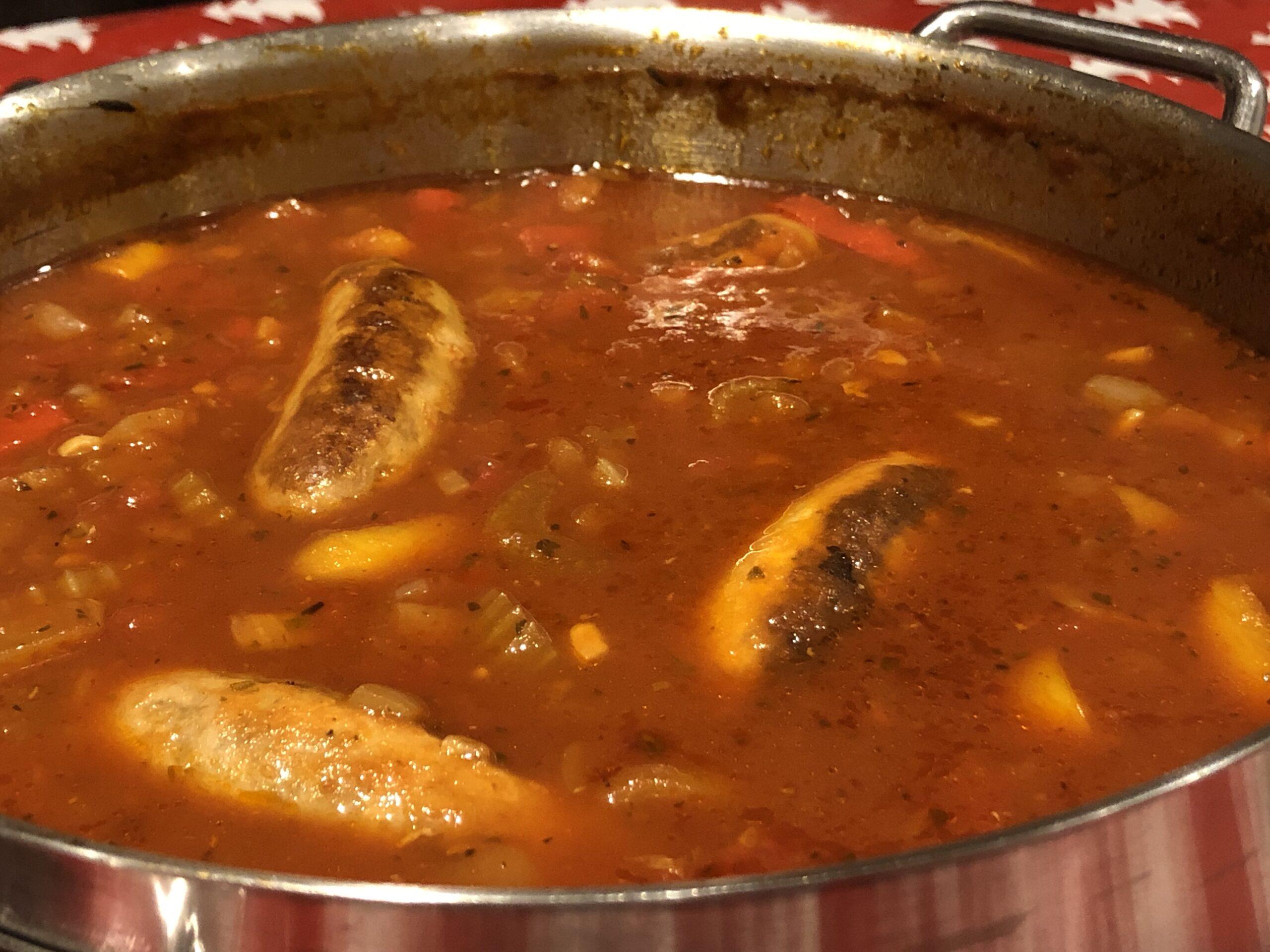 Super sausage casserole
